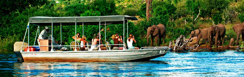 8 Days Botswana Africa Safari chobe-chilwero-safari