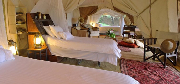 cottars camp family tent