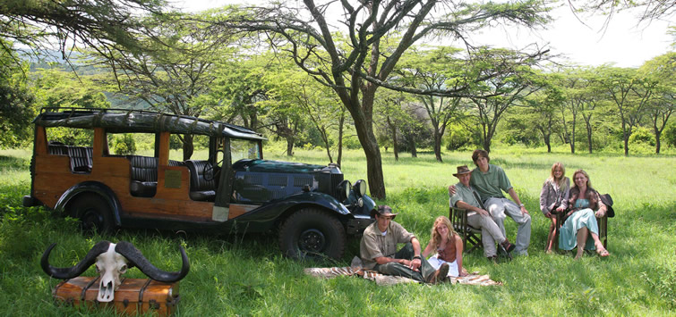cottars camp game drives